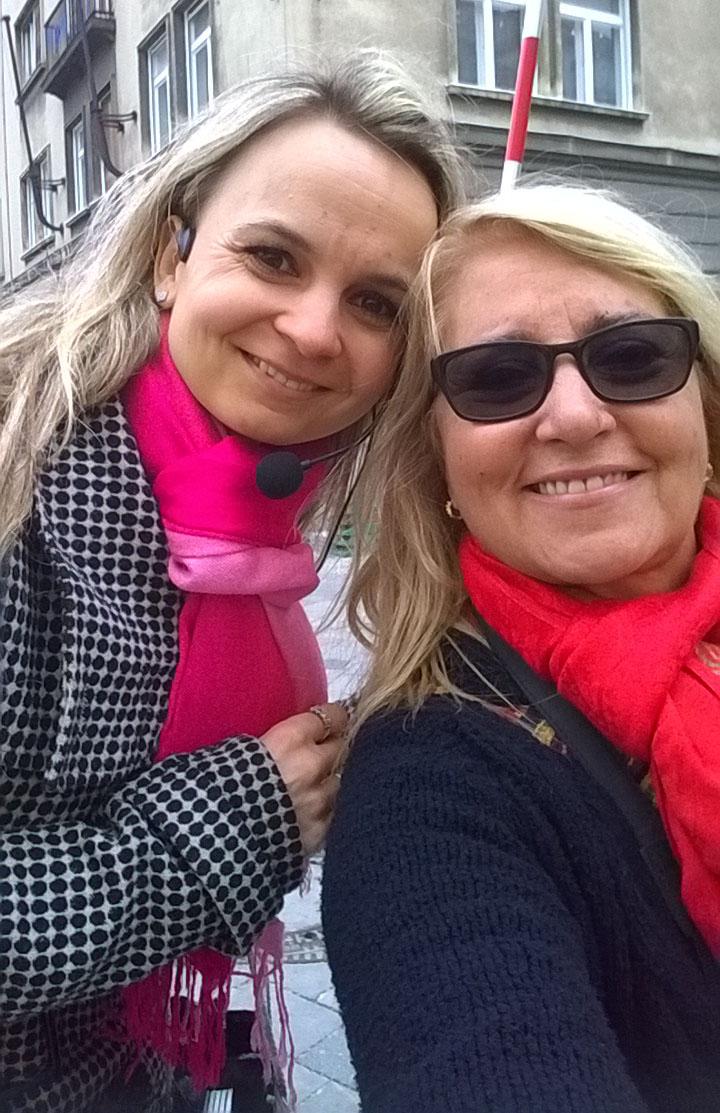 Selfie con Gi, de Rio de Janeiro