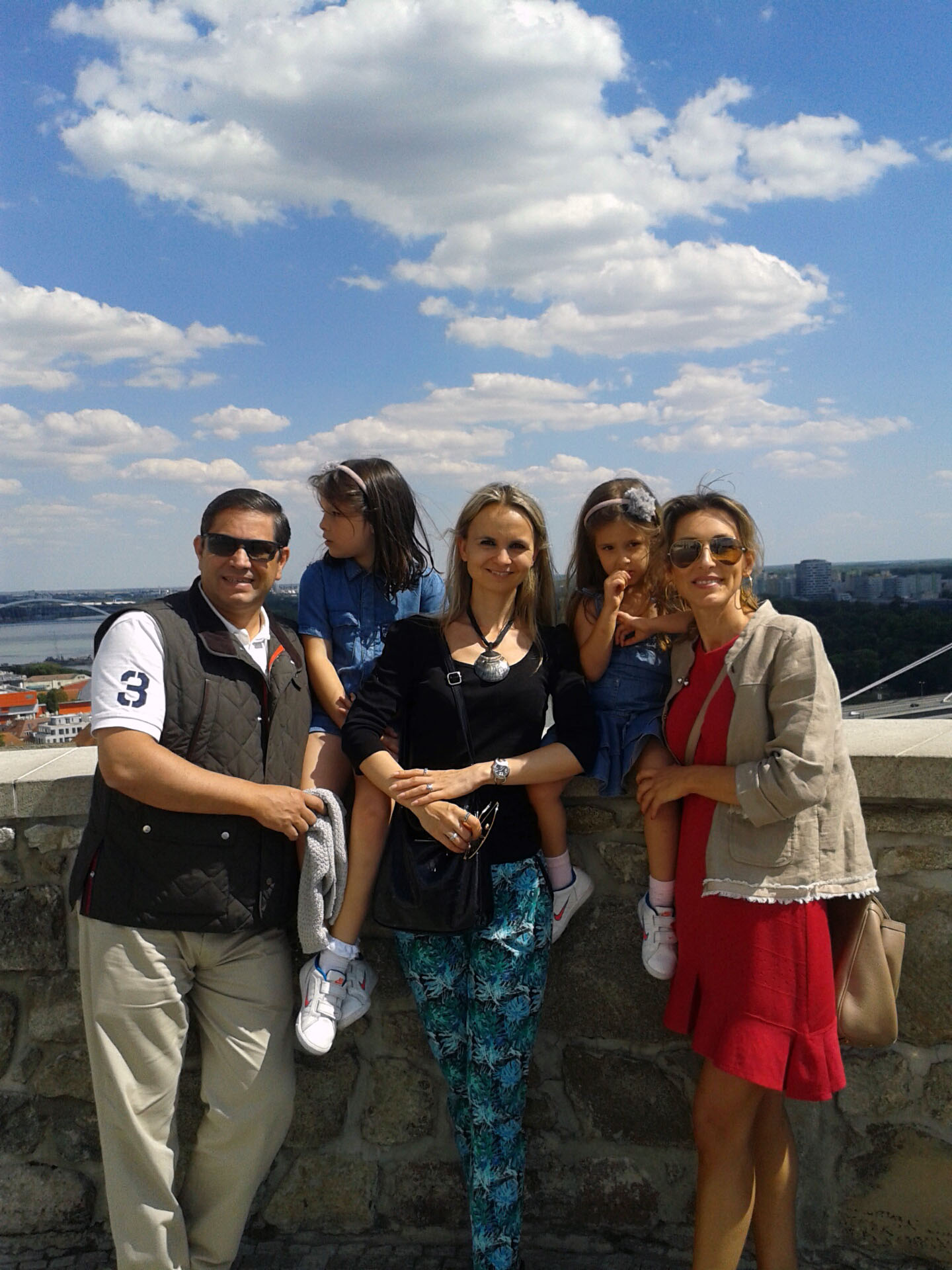 En el castillo de Bratislava