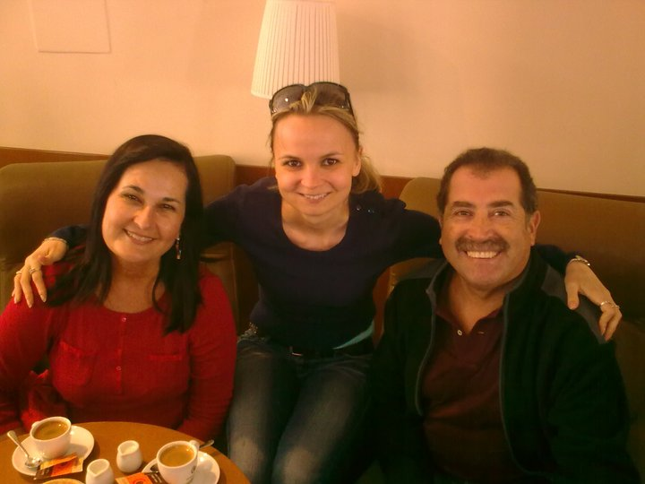 Coffee with Hugo and Perla from Ecuador